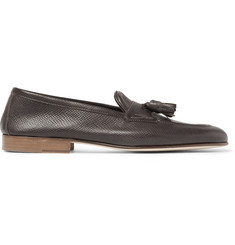 Edward Green Portland Cross-Grain Leather Tasselled Loafers