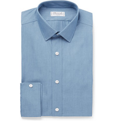 Charvet - Blue Cotton-Poplin Shirt