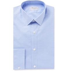 Charvet Slim-Fit Gingham Cotton Shirt
