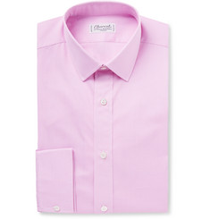 Charvet - Slim-Fit Gingham Cotton Shirt