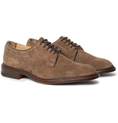 Tricker's - Robert Suede Derby Shoes