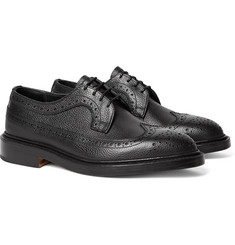 Tricker's - Richard Pebble-Grain Leather Longwing Brogues