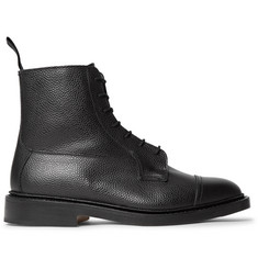 Tricker's Roy Pebble-Grain Leather Boots