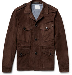 Paul Smith - Slim-Fit Suede Field Jacket