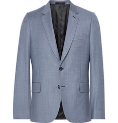 Paul Smith Blue Soho Slim-Fit Wool-Twill Suit Jacket