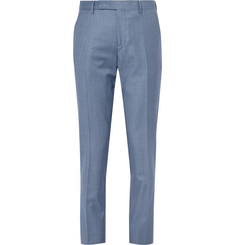 Paul Smith - Blue Wool-Twill Suit Trousers