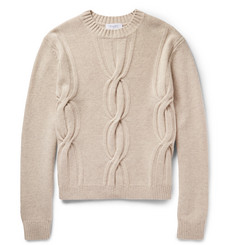 Enlist Cable-Knit Merino Wool Sweater