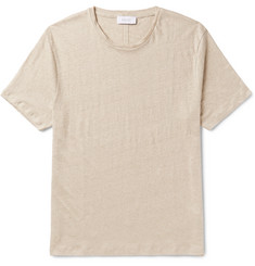 Enlist Slim-Fit Slub Linen-Jersey T-Shirt