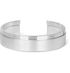 Le Gramme Le 13 Guilloché and Le 33 Sterling Silver Cuff Set