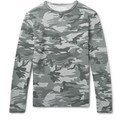 Officine Generale - Camouflage-Print Loopback Cotton-Jersey Sweatshirt