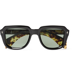 Hopper + Jacques Marie Mage Taos Square-Frame Acetate Sunglasses
