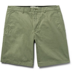 Club Monaco Maddox Cotton-Twill Shorts