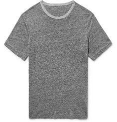 Club Monaco Slim-Fit Mélange Linen T-Shirt
