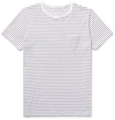 Club Monaco Williams Striped Cotton-Jersey T-Shirt