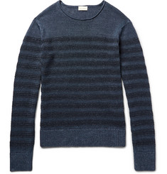 Club Monaco Striped Linen Sweater