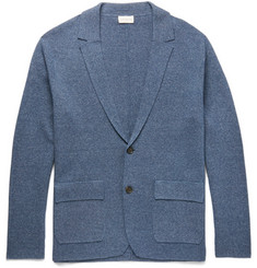 Club Monaco Slim-Fit Knitted Mélange Cotton Cardigan
