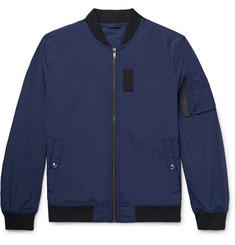 Club Monaco MA1 Stretch-Nylon Ripstop Bomber Jacket