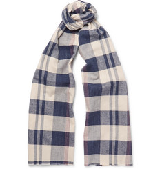 J.Crew Checked Cotton Scarf