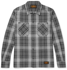 Neighborhood Logger Slim-Fit Checked Cotton-Flannel Shirt