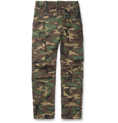 Neighborhood Camouflage-Print Cotton-Ripstop Trousers
