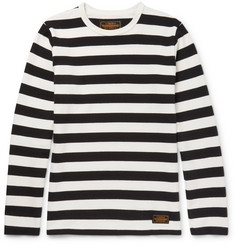 Neighborhood Striped Knitted Cotton T-Shirt