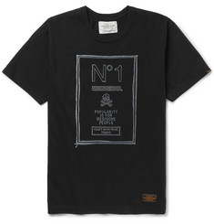 Neighborhood No. 1 Printed Cotton T-Shirt