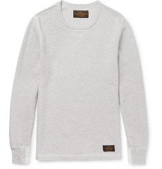 Neighborhood Waffle-Knit Cotton T-Shirt