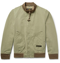 Neighborhood Cotton-Twill Bomber Jacket