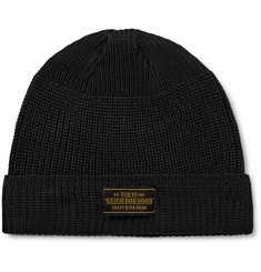Neighborhood - Ribbed-Knit Beanie