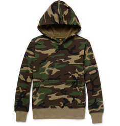 Neighborhood - Camouflage-Print Cotton-Jersey Hoodie