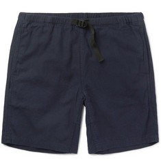 Neighborhood Linen and Cotton-Blend Shorts