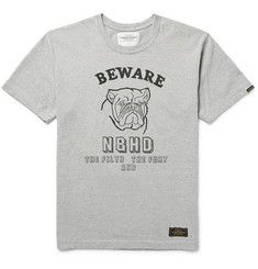 Neighborhood - Printed Cotton-Jersey T-Shirt