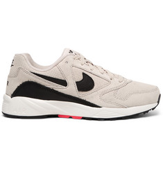 Nike Air Icarus Suede and Leather Sneakers