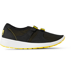 Nike Air Sock Racer Faux Suede-Trimmed Mesh Sneakers