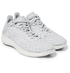 Nike - NikeLab Free Inneva Leather-Trimmed Mesh Sneakers