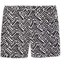 Onia - Calder Long-Length Printed Swim Shorts