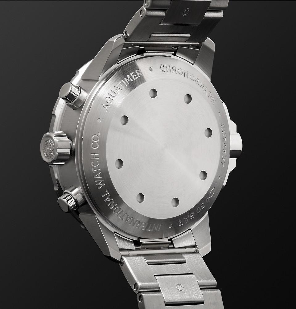 IWC SCHAFFHAUSEN Aquatimer Chronograph 44mm Stainless Steel Automatic Watch