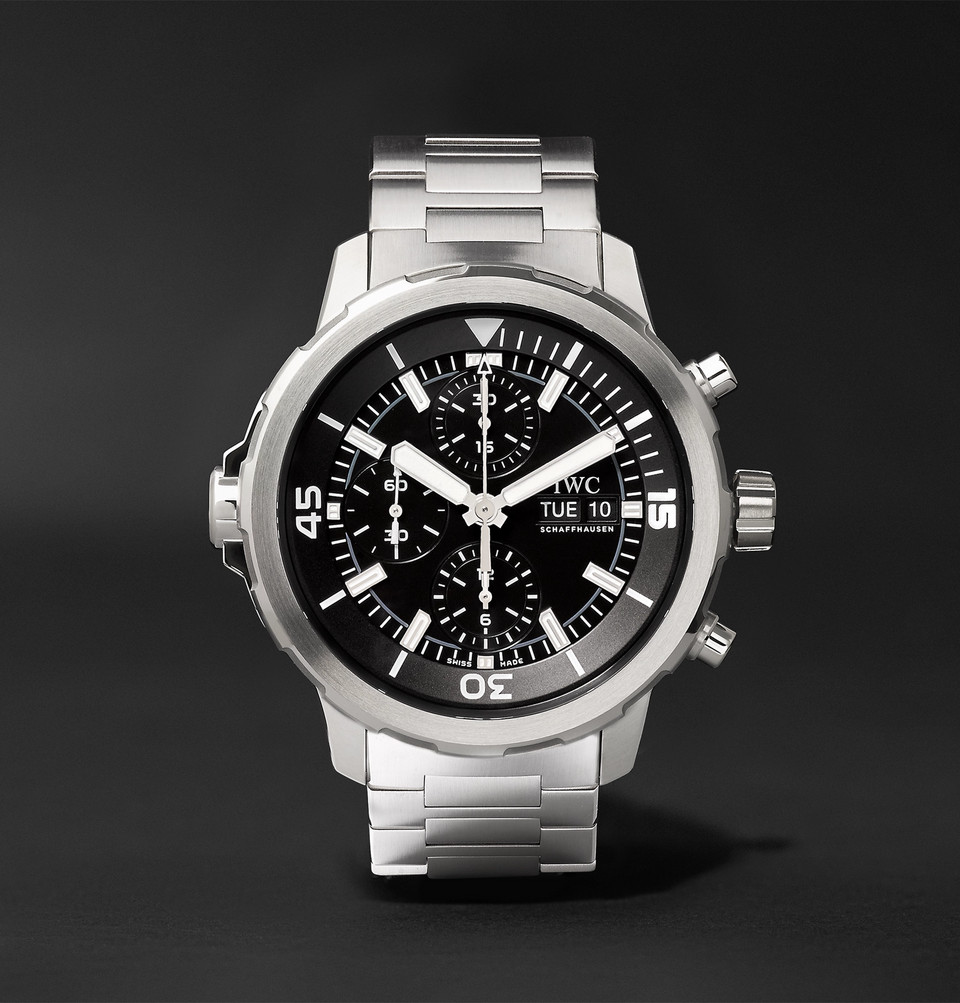 IWC SCHAFFHAUSEN Aquatimer Chronograph 44mm Stainless Steel Automatic Watch