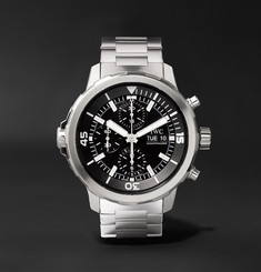IWC SCHAFFHAUSEN Aquatimer 44mm Stainless Steel Automatic Chronograph Watch