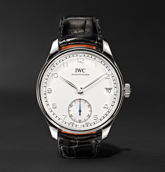 IWC SCHAFFHAUSEN Portugieser 43mm Stainless Steel and Alligator Watch