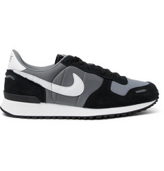 Nike Air Vortex Suede, Leather and Shell Sneakers