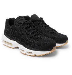 Nike - Air Max 95 Mesh-Trimmed Suede Sneakers