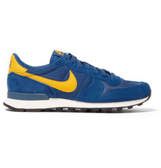 Nike Internationalist Suede, Shell and Mesh Sneakers