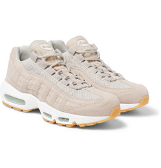 Nike - Air Max 95 PRM Mesh-Trimmed Suede Sneakers