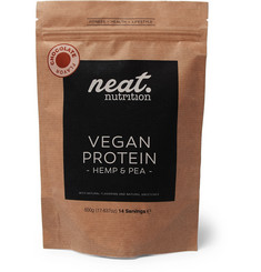 Neat Nutrition Hemp and Pea Vegan Protein - Chocolate Flavour, 500g