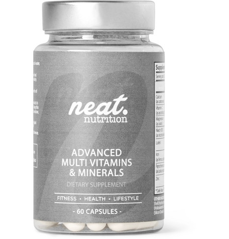 ADVANCED MULTI VITAMINS & MINERALS, 60 CAPSULES