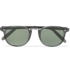 Kingsman - + Cutler and Gross D-Frame Acetate and Silver-Tone Sunglasses