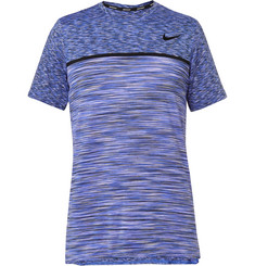 Nike Tennis - Court Dry Challenger Space-Dyed Dri-FIT Tennis T-Shirt