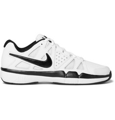 Nike Tennis Air Vapour Advantage Leather and Mesh Sneakers