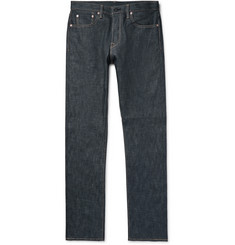 The Workers Club - Slim-Fit Raw Selvedge Denim Jeans